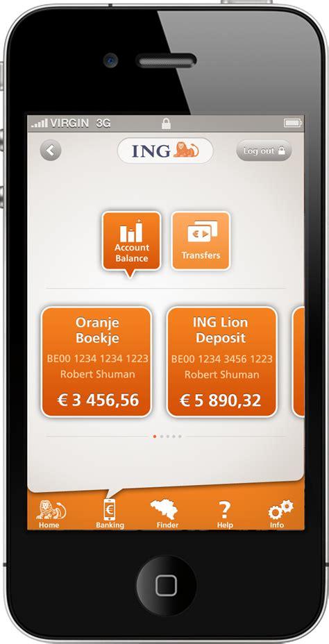 deutsche bank app belgie ing belgi 235 introduceert eerste belgische mobile banking app