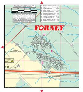 forney map forney city q6