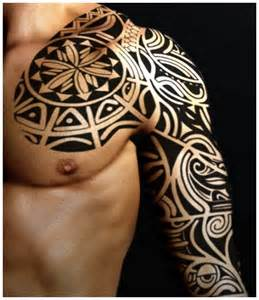 hd tribal tattoo sleeves design idea for men and women