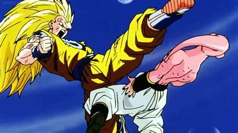 imagenes de goku vs kid buu goku vs kid buu amv youtube