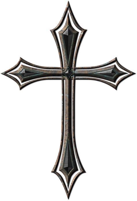 steel cross tattoos in loving memory cross clip library stock techflourish