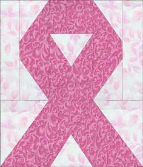 Pink Ribbon Quilt Pattern by 1000 Ideas About Cancer Ribbons On Awareness