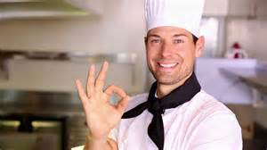 chef s stock footage happy chef making ok sign to camera in