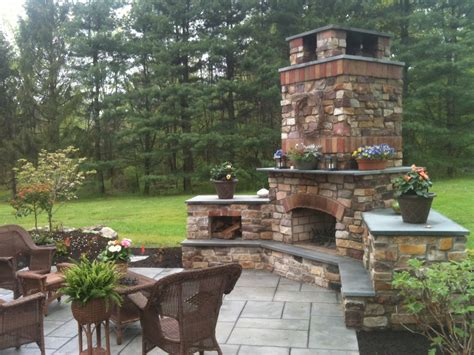 backyard fireplace ideas tag archive for quot outdoor fireplace ideas quot landscaping company nj pa custom pools