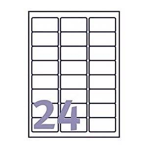 Avery 10 Labels Per Sheet Template by Inkjet Laser Avery Compatible Labels 24 Per Sheet J8159