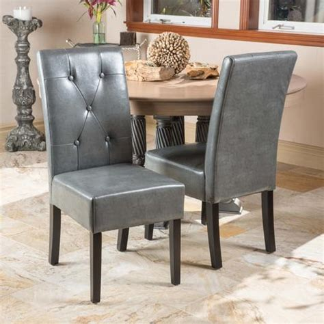 alexander teal bonded leather dining set of 2 norden mid century design dining chairs gdf studio