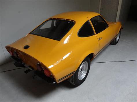 vintage opel car opel gt gt joop stolze classic cars