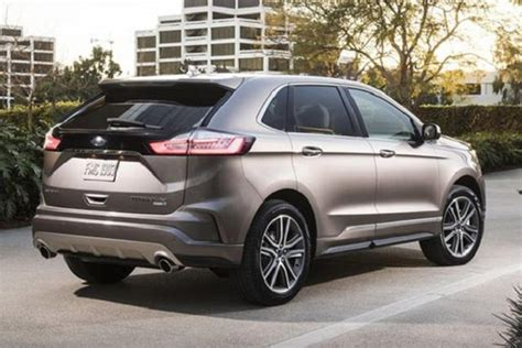 2020 Ford Edge by 2020 Ford Edge St Redesign Release Date Suv Project