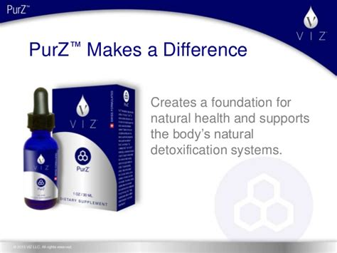 Synergy Detox System by Presenting Purz With The Original Zeolite Patented Formula