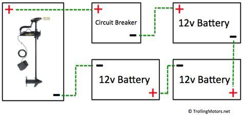 36 volt battery wiring diagram 24 and 36 volt wiring diagrams trollingmotors net