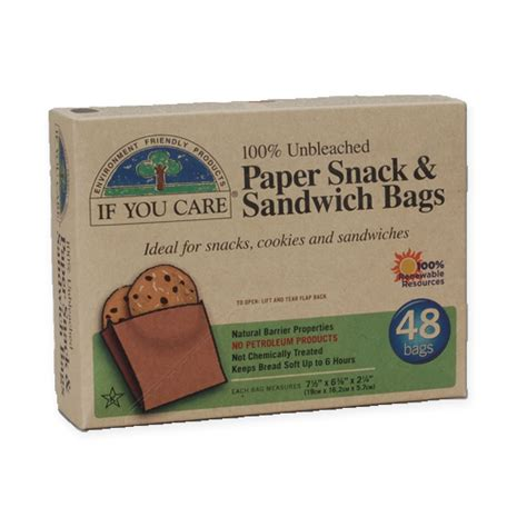 Snack Paper by Paper Snack Sandwich Bags Greenline Paper Company