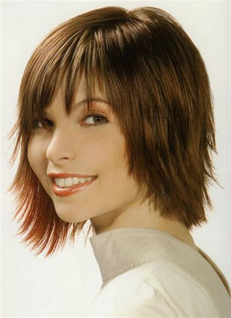 15 best collection of long hairstyles with short layers on top 15 best collection of short to medium hairstyles with bangs