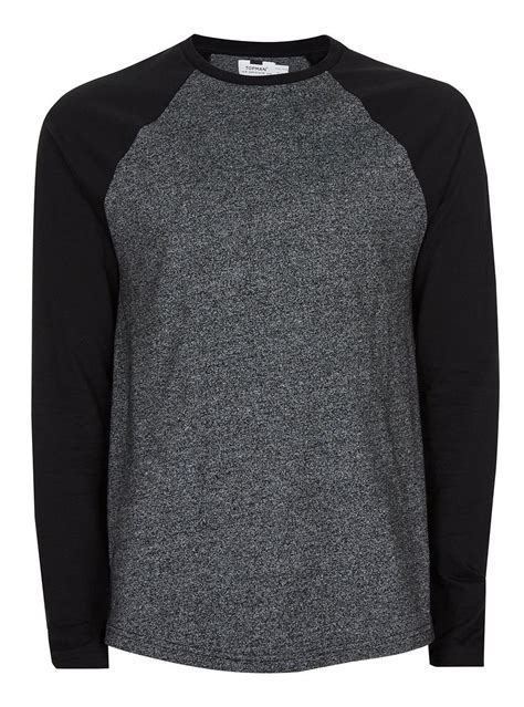 Sleeve T Shirt grey raglan sleeve t shirt s tops clothing