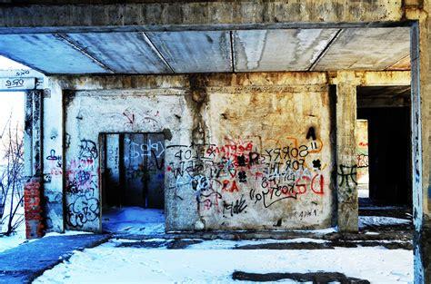 picture abandoned art graffiti architecture