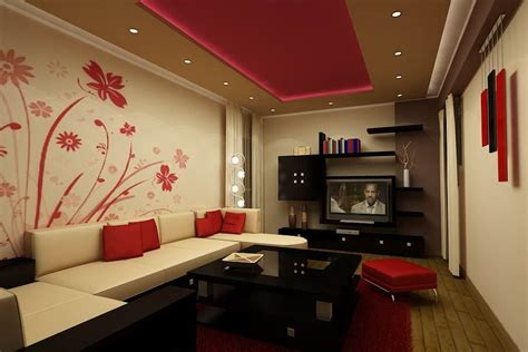 Elegant And Bold Red And White Living Room Furniture White Living Room Furniture Ideas