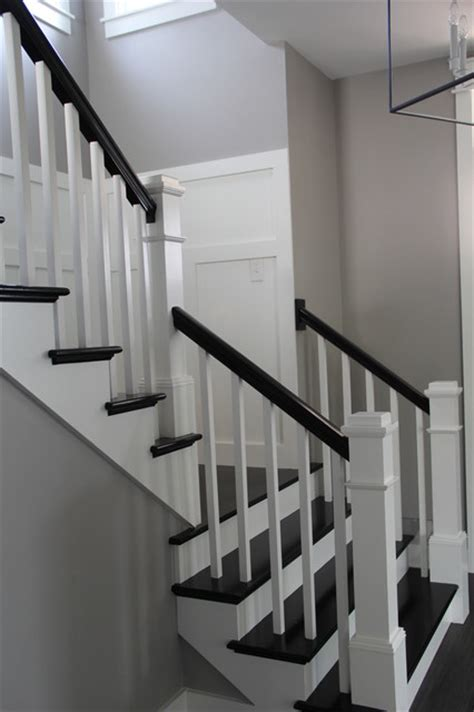 Banister Stairs Ideas Custom Urban Farmhouse Farmhouse Staircase