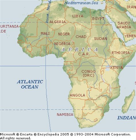 africa map mountains ahaggar mountains africa map