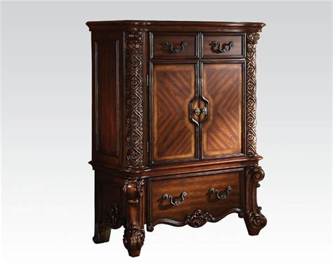 Cabinet Vendome by Vendome Cabinet In Cherry Finish By Acme 22006 D