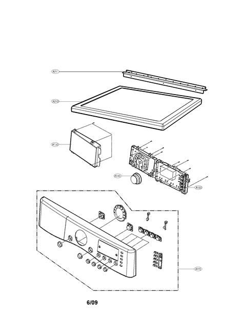 lg dryer parts diagram lg dryer parts model dlg2702v sears partsdirect