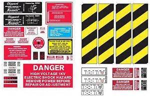sticker label sheet ghostbusters diy cosplay proton pack