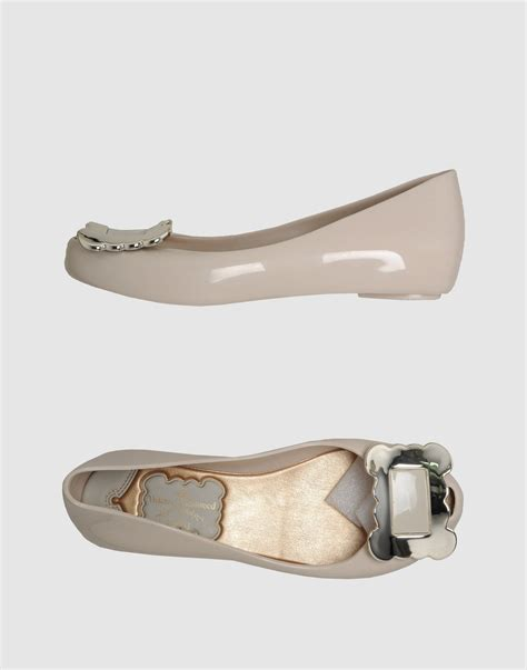 vivienne westwood shoes flats vivienne westwood anglomania peep toe ballet flats in