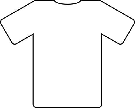 shirt outlines clip art at clker com vector clip art