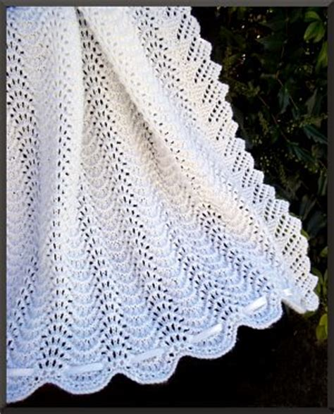 baby knitted shawl white knitted baby shawl