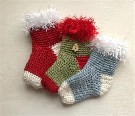 free pattern for crochet christmas stocking ornament 20 free crochet christmas stocking patterns guide patterns