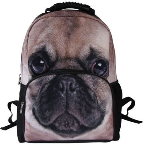 3d pug puzzle animal facetm 3d animals pug backpack 3d stereographic felt fabric