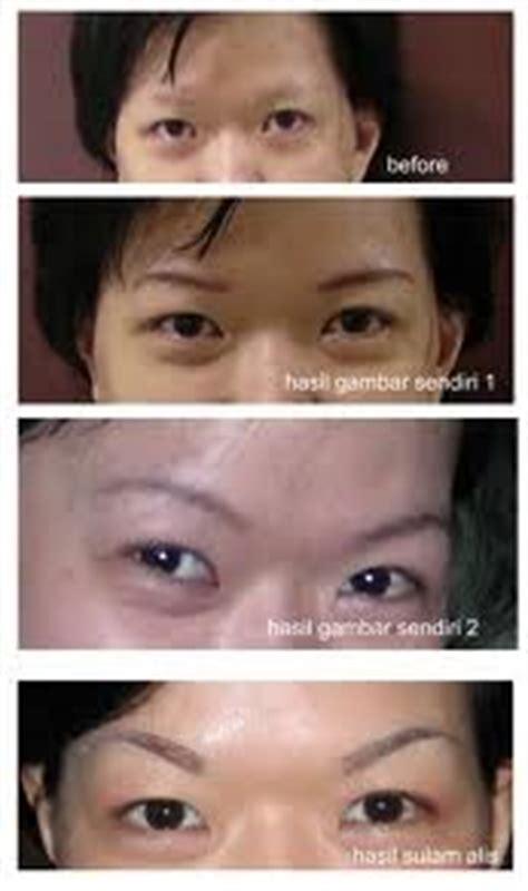 Sulam Lipatan Mata Sulam Eyelid 9 tahap pengerjaan sulam alis sulam alis bandung
