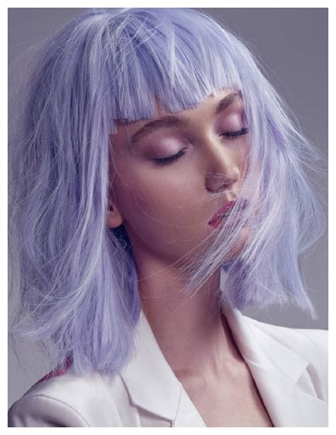 periwinkle hair style image stylenoted inspirational hair color