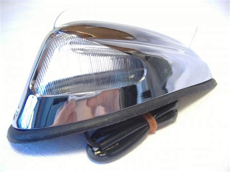 chrome clear finned front fender florida sidecar products sidecar accessories