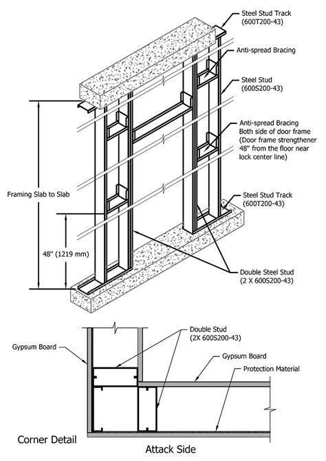 standard stud wall thickness 100 standard stud wall thickness jamb construction
