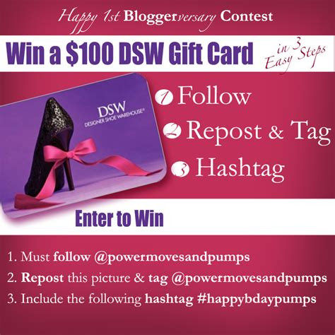 Instagram Giveaway Rules - happy1st bloggerversay contest