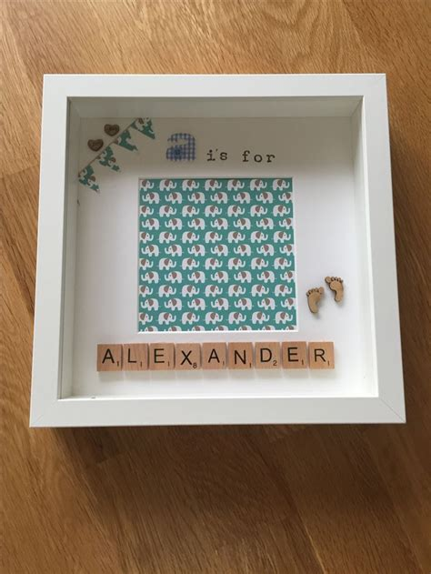 scrabble memory best 25 personalised memory box ideas on