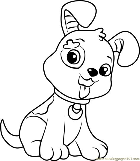 pupcake printable coloring page for kids and adults