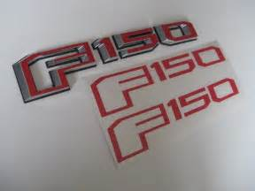 Ford F150 Emblems Ford F150 2015 2016 2017 Side And Tailgate Emblem Overlay