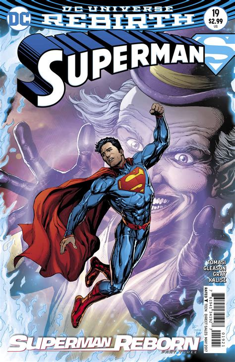Superman Rebirth Dc Comic dc comics rebirth superman reborn spoilers review superman 19 reveals connection to new 52