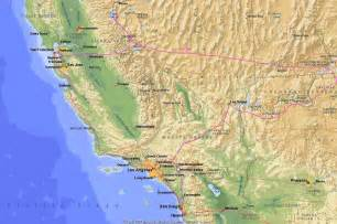 map west coast usa images