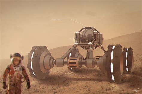 mcc2322 road exploration rover for mars by yohan