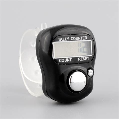Diskon Tally Counter Digital Finger digital lcd electronic finger tally counter for