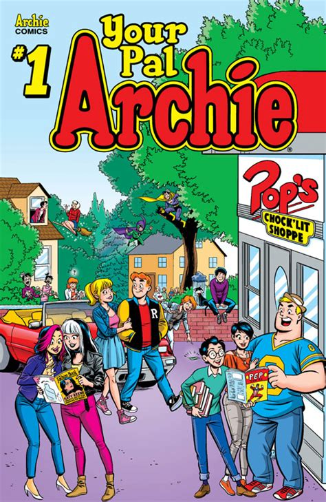 previews prevue vault s wasted space is full of sneak peek classic archie is back in your pal archie 1