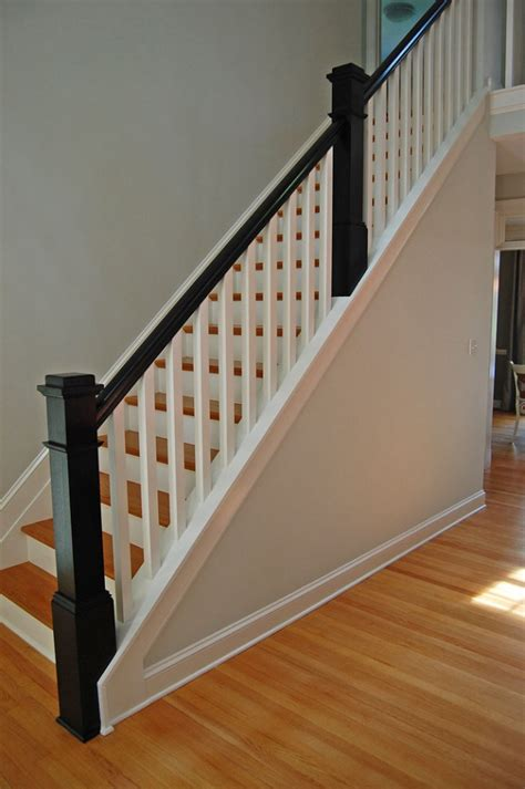 wood stair banisters beautiful stair railings interior 7 interior wood stair