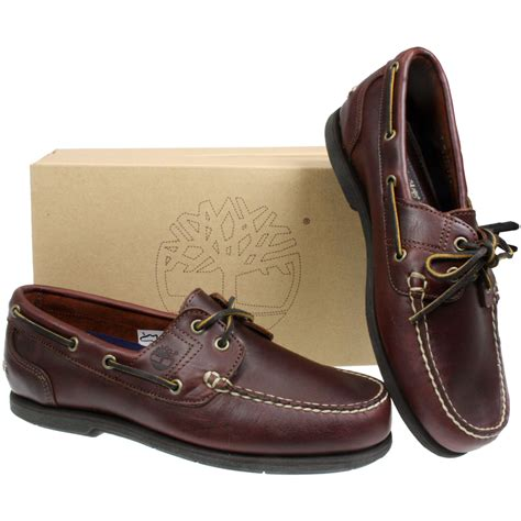 timberland boat shoes non marking mens timberland 25045 classic leather 2 eye dark brown