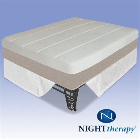 therapy 14 quot grand memory foam mattress complete set