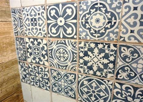 pattern vinyl flooring australia sydney patterned tiles encaustic look artisan floor wall