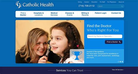 home catholichealth net home review