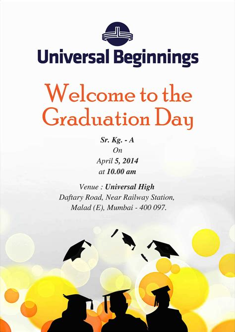 day invitations graduation day invitation card vertabox