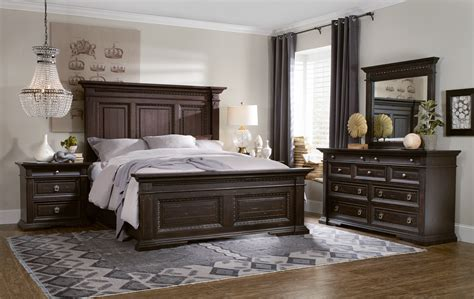 hooker bedroom sets hooker furniture bedroom treviso king panel bed 5374 90266