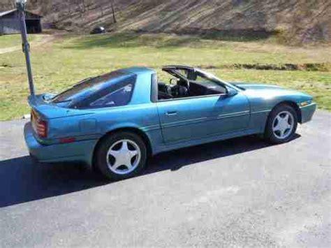 1992 Toyota Supra For Sale Find Used 1992 Toyota Supra Teal Turbo Targa Automatic